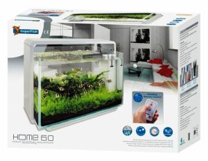 SuperFish HOME 60 AQUARIUM WHITE akvarijní set s DO
