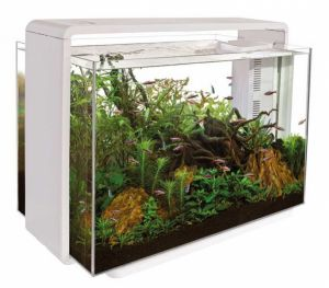 SuperFish HOME 80 AQUARIUM WHITE akvarijní set s DO
