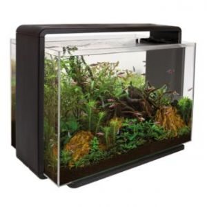 SuperFish HOME 80 AQUARIUM BLACK akvarijní set s DO