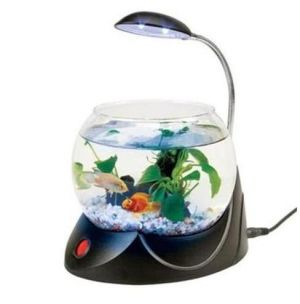 Akvárium Mini Fish Bowl V01 Black