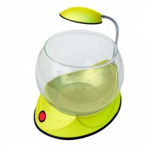 Akvárium Mini Fish Bowl V01 Yellow